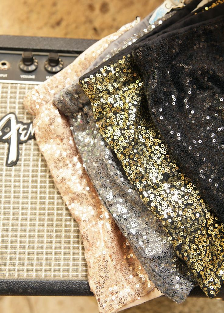 the baCKstage sequin shorts - Junk GYpSy co.