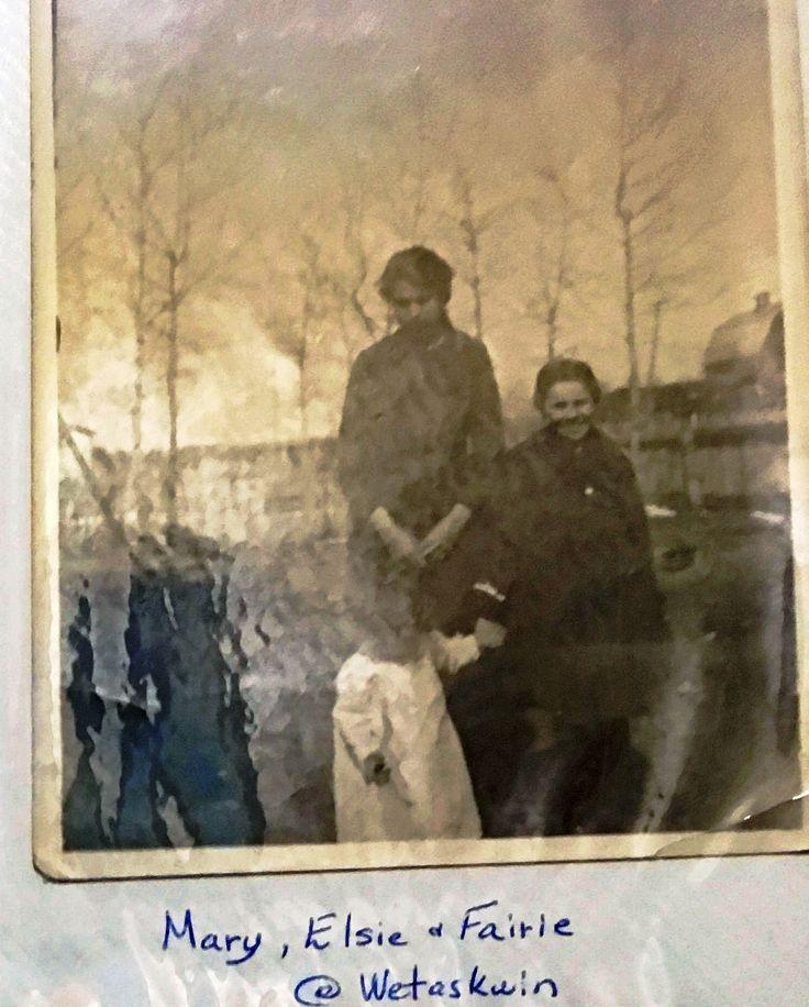 Mary, Elsie & Fairie at Wetaskiwin