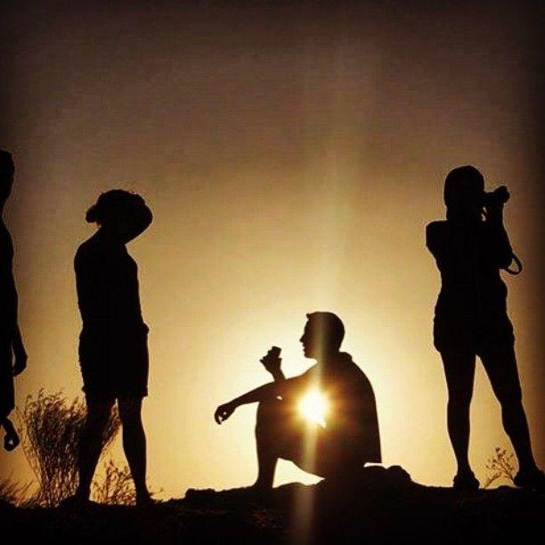 Gili Lawa sunsets.