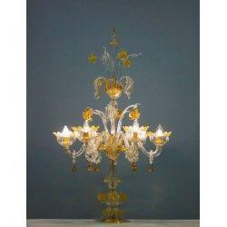 Italian Murano Table Lamp circa from 1990s