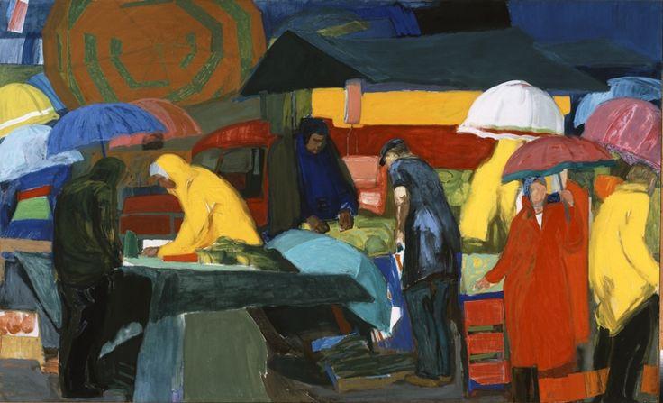 Tetsis Panagiotis (1925)      Public market, 1979 - 1982