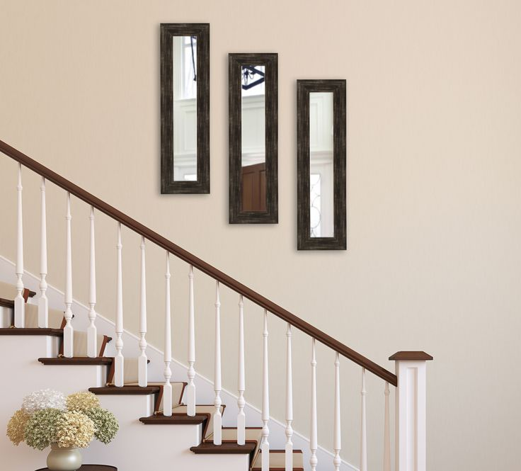 American Made Rayne Brushed Classic Brown Mirror Panel - P77 ~Suggested Retail~