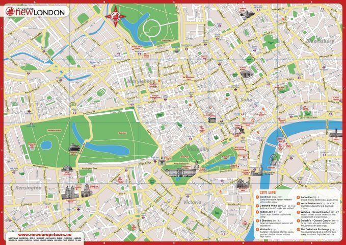 Carte De Londres A Telecharger Gratuitement En Pdf Pour Imprimer Plan Du Metro De Londres A Telecharger Carte Londres Plan De Londres Londres