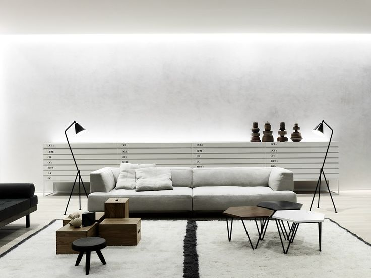 L'inspiration industrielle pour un loft blanc totale
