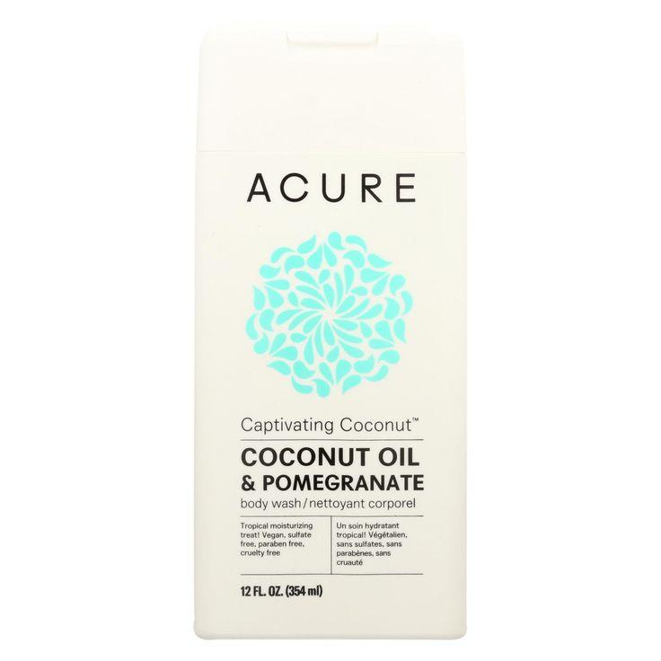 Acure Body Wash - Captivating Coconut - 12 Fl Oz