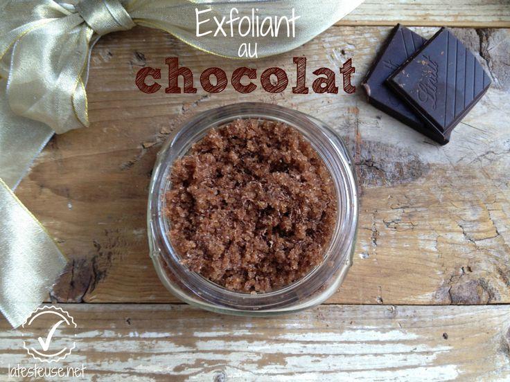 exfoliant pour le corps au chocolat