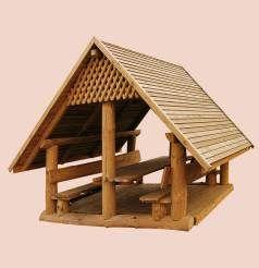 Meble ogrodowe - Drewal - Wyroby z drewna, meble sosnowe, meble ogrodowe, place zabaw, schody, drzwi - producent