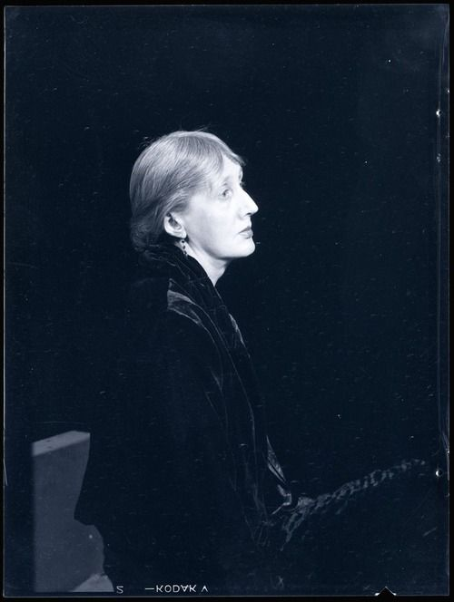 Virginia Woolf. Man Ray 1935.  Incredible writer - Orlando, a classic!