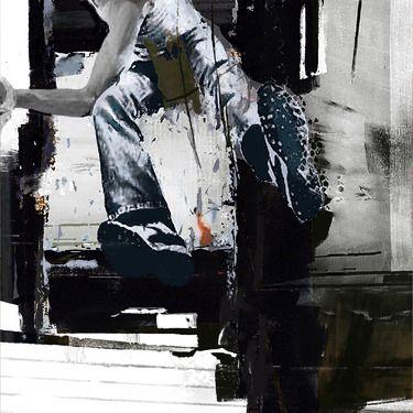 "Saatchi Art Artist Serj Fedulov; Painting, ""From the series Street Survivors 6"" #art"