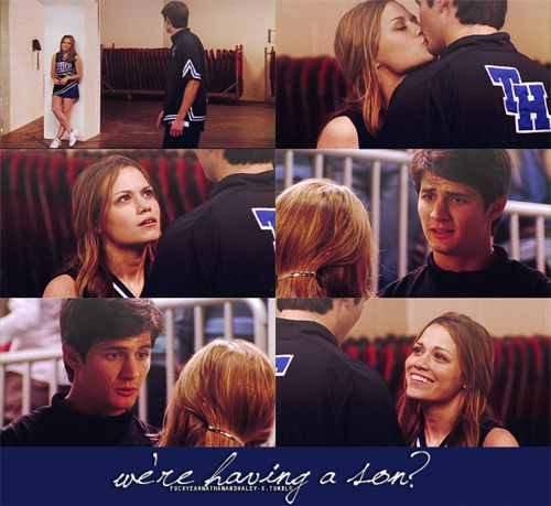 Bethany Joy Lenz (Haley James-Scott) & James Lafferty (Nathan Scott) - One Tree Hill