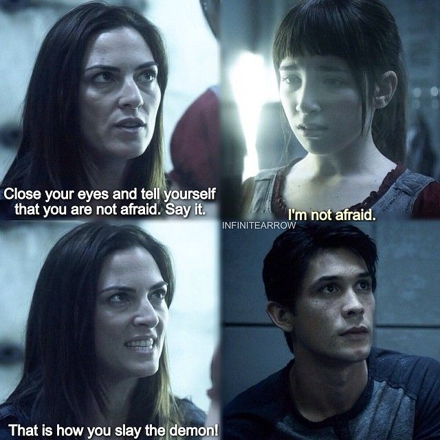 """S1 Ep6 """"His Sister's Keeper"""" - Bellamy, Octavia and they mom"""