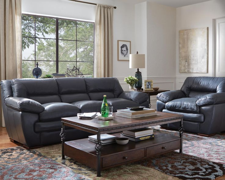 The Brady Collection puts the emphasis on comfort with pillow top seating and arms. Upholstered ...