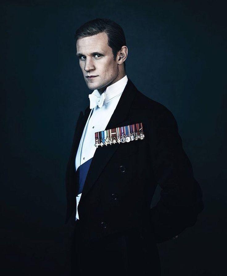 Matt Smith, The Crown.  Vogue UK