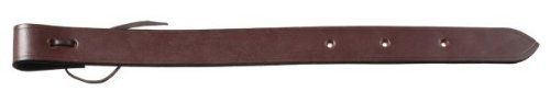 "1 3/4"" Leather Flank Cinch Billet - Dark/oil by Royal. $7.80. Color: Dark/oil. Laced end style, made of single ply russet skirting leather with latigo lace to tie to read rigging dee.. Save 49%!"