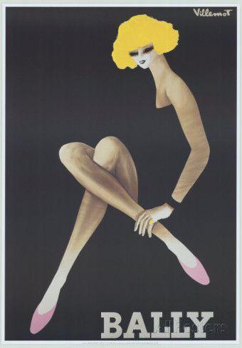 Bally Poster von Bernard Villemot bei AllPosters.de