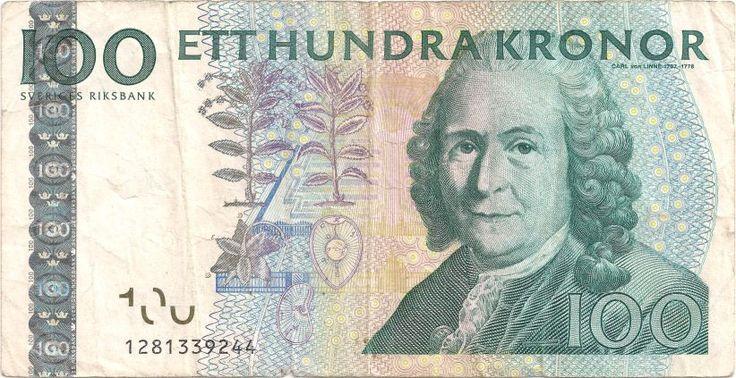 Motivseite: Geldschein-Europa-Nordeuropa-Schweden-Krona-100-2001