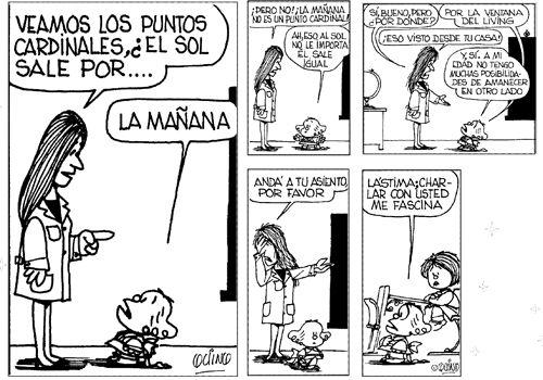 Mafalda - Astronomía