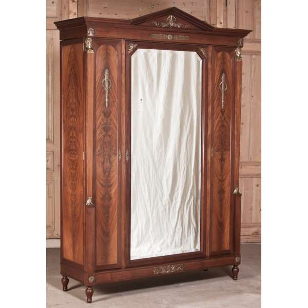 Antique French Empire Mahogany Armoire  WAS  6400 SALE 3000  INNESSA STEWARD. 330 best Reference   Guides   Antique Identification   Resource