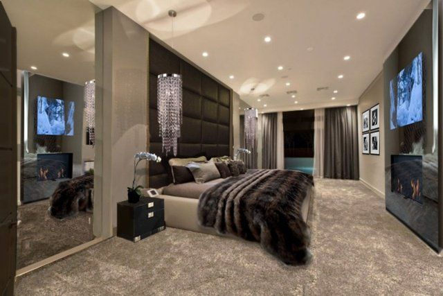 d coration de chambre 55 id es de couleur murale et. Black Bedroom Furniture Sets. Home Design Ideas