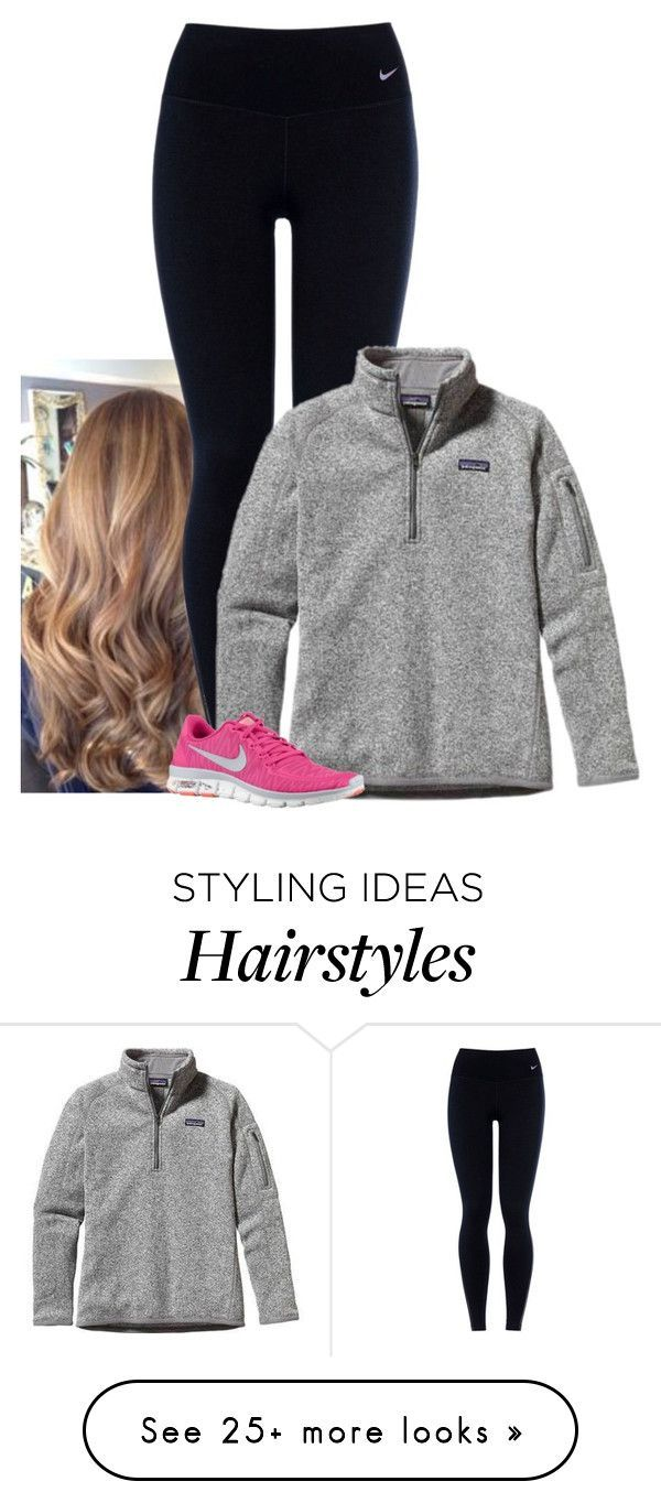 """""""dreading going back to school"""" by morgantaylor37 on Polyvore featuring NIKE and Patagonia"""