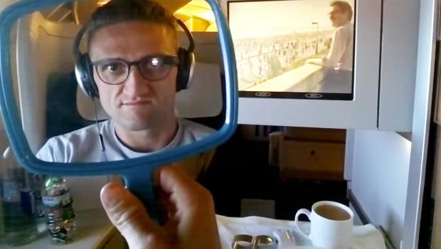 Watch Casey Neistat's Google Glass-Delivered Google Glass Review
