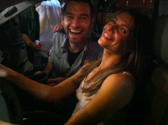 Antony Starr and Ivana Milicevic