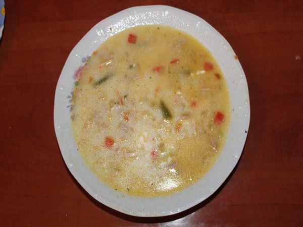 Supa de pui cu smantana - Bucataria cu noroc