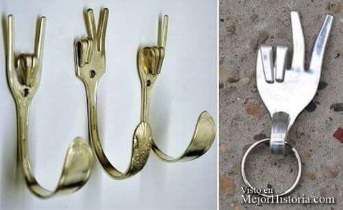 Reciclando tenedores
