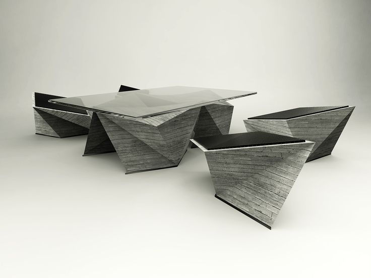 cubism furniture. concreate on behance cubism furniture d