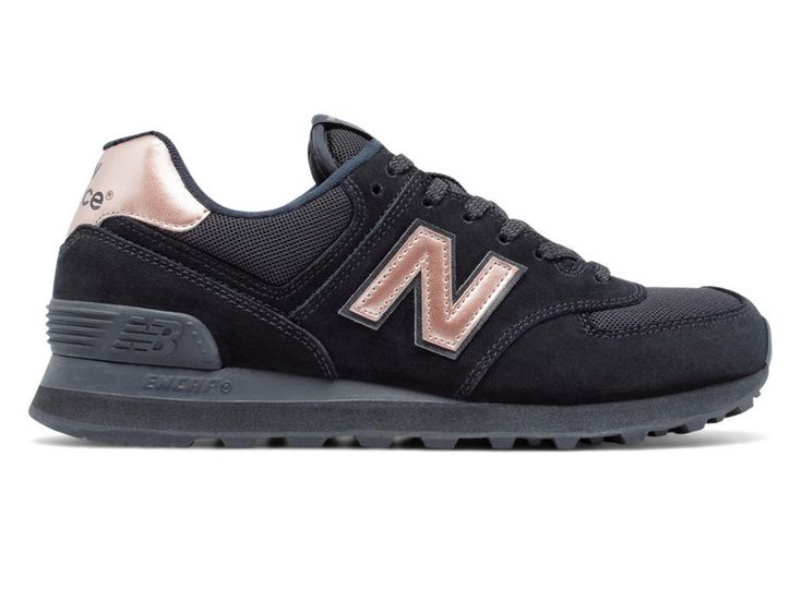 New Balance 574 Womens - Black / Rose Gold – West Brothers #newbalance #sneakers