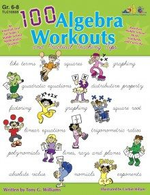 EXPIRED: 30% off 100 Algebra Workouts by The Teaching and Learning Company. Available: Friday, 13 July to Thursday, 19 July 2012. Price as displayed ($9.06 USD), no promo code needed. Click here to buy this eBook: http://ow.ly/cd5u4 #deals #ebooks