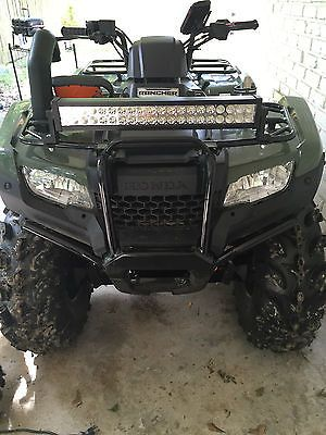 2015 Honda Rancher 420 4x4 With Extrassss Exclusive