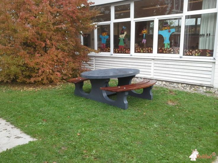Picknickset DeLuxe Antraciet Ovaal bij Grundschule  Stahringen in Radolfzell am Bodensee