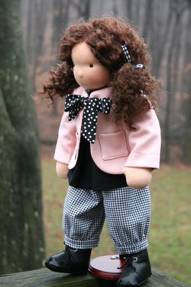Petit Gosset Waldorf doll (image only)