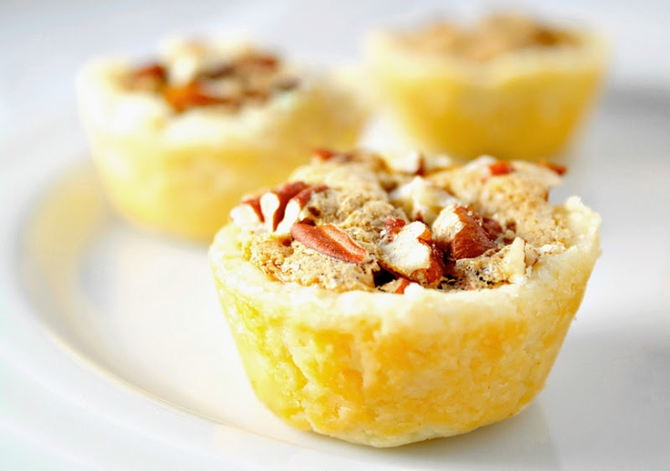 pecan tassies, my mom used to make these, so delicious! like melt in ...