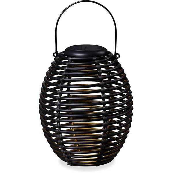 Baker Coil Solar Lantern ($29) ❤ Liked On Polyvore Featuring Home,