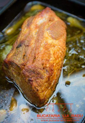 friptura de ceafa de proc
