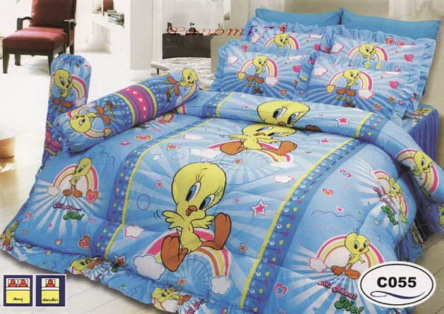 Tweety Bird Queen Size Bedding