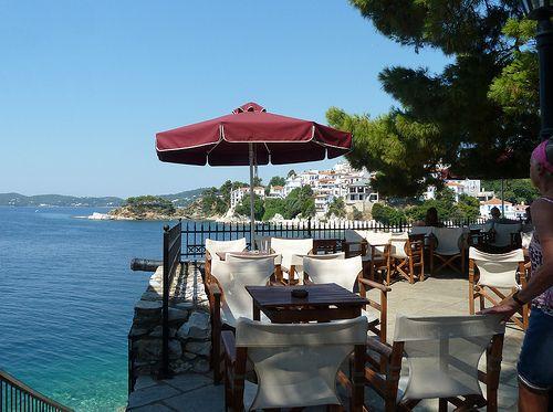 The Bourtzi Taverna, Skiathos   Flickr - Photo Sharing!