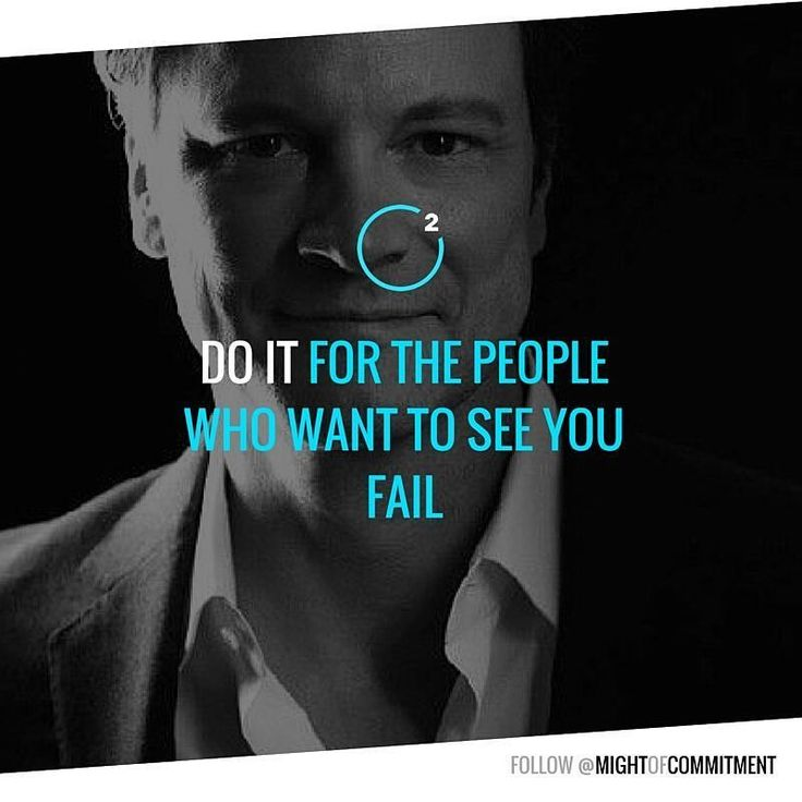 Who want wants You to fail? Follow @mightofcommitment for #motivation #inspiration #quotes
