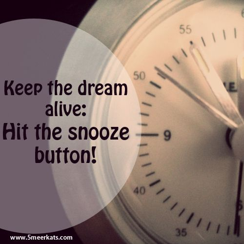 Keep the dream alive! Oh Yeah!
