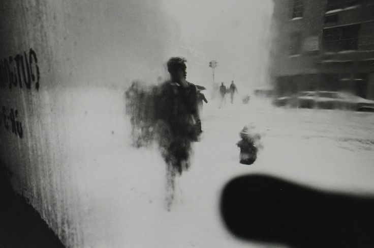 Saul Leiter - Saul Leiter: 1950-60s color and black-and-white   LensCulture