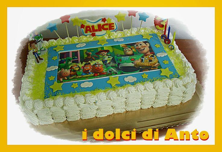 I dolci di anto due torte due cuginette torte decorate - Torte salate decorate ...