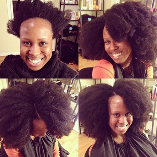 For Kinks Wefted Hair - Heat Free Hair Movement