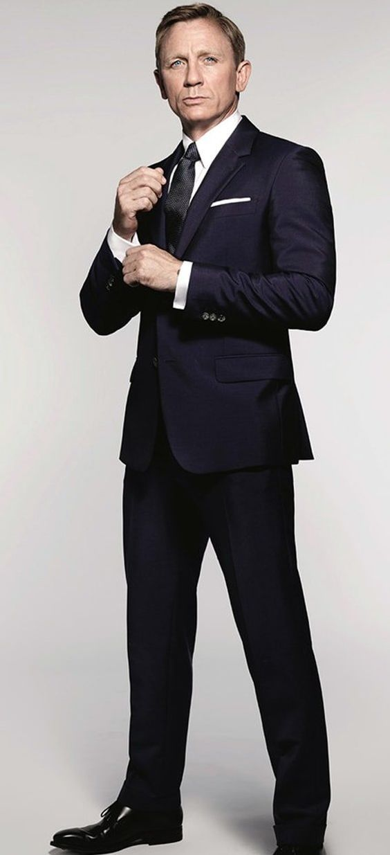 Sharkskin James Bond Spectre Suit