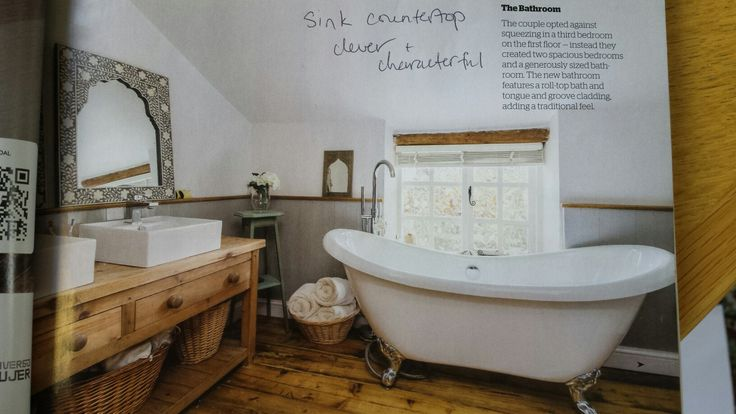 Sink counter top clever and characterful