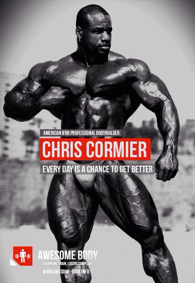 Chris Cormier. Bodybuilding RoutinesBodybuilding MotivationWorkout QuotesWorkout  ...