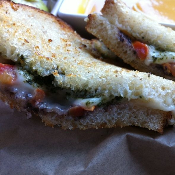 Grilled Mozzarella Sandwich With Anchovy-Olive Tapenade ...