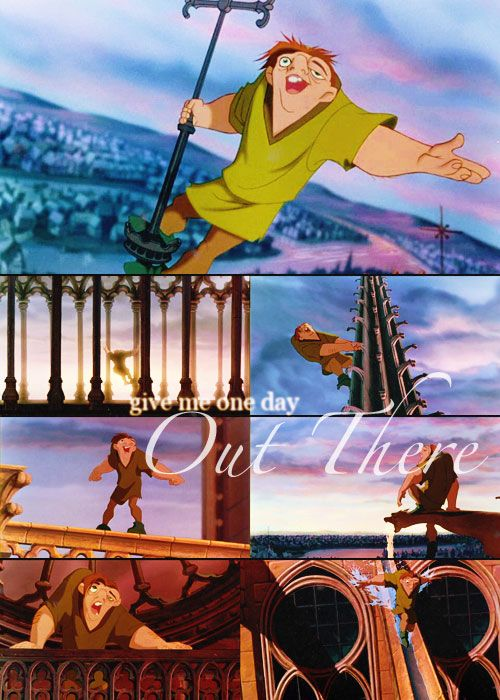 The Hunchback of Notre Dame, an amazing movie that is under rated. Love it!