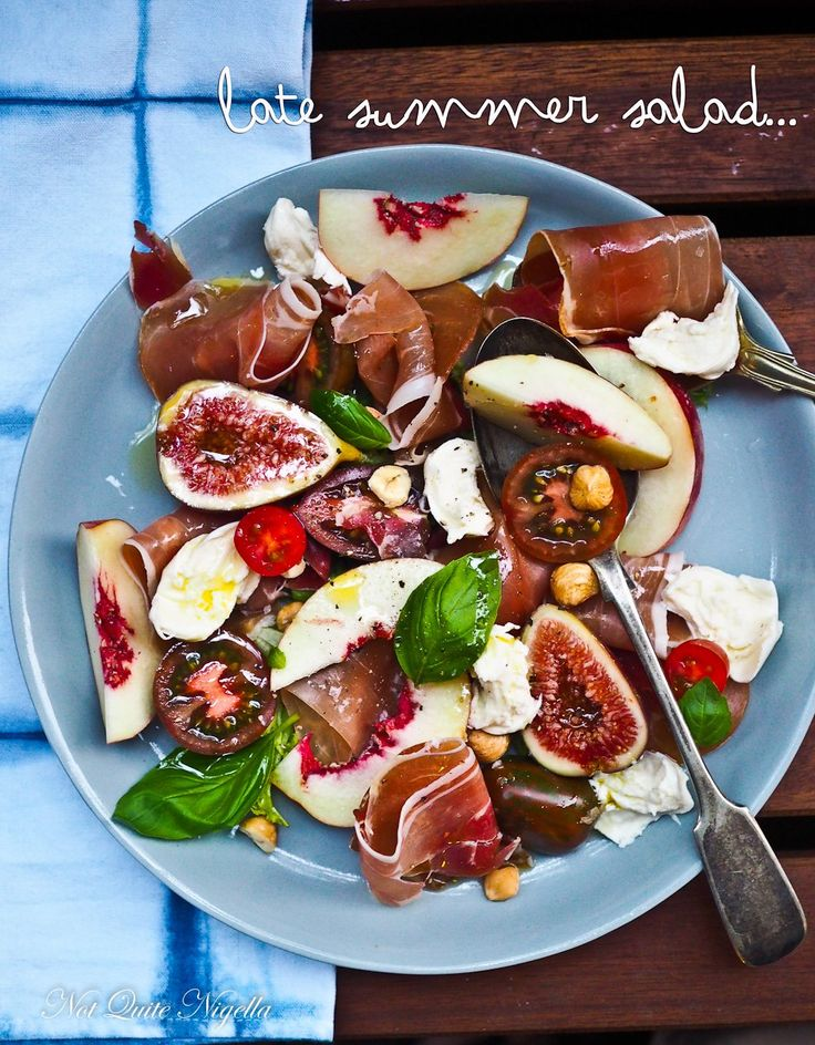 Prosciutto Fig Salad @ Not Quite Nigella